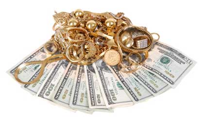 gold-jewelry-on-tons-cash